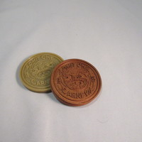 Small Carnevil Coin 3D Printing 9561