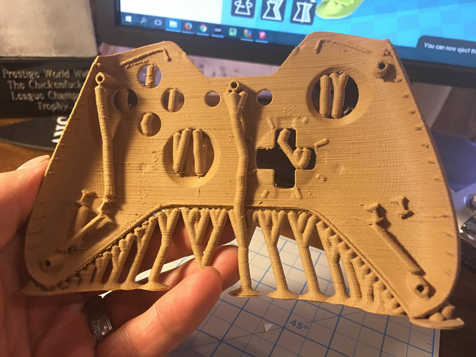 Xbox One Controller Faceplate 3D Print 9582