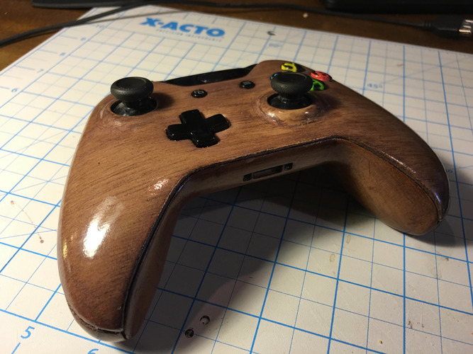 Xbox One Controller Faceplate 3D Print 9586