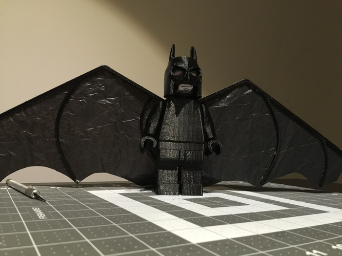 Flying Lego Batman 3D Print 9592