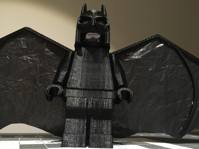 Flying Lego Batman 3D Print 9593