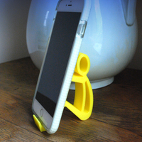 Small Phone holder Phone stand 3D Printing 9602