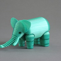 Small Elephant 3D Printing 966