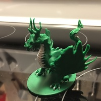 Small Forest Dragon 3D Printing 9716