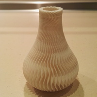 Small Wave Vase 3D Printing 9792