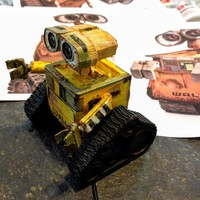 Small WALL-e  ( cut into parts ) 3D Printing 9800