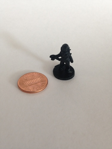 Vanara Adventurer (18mm scale) 3D Print 9801