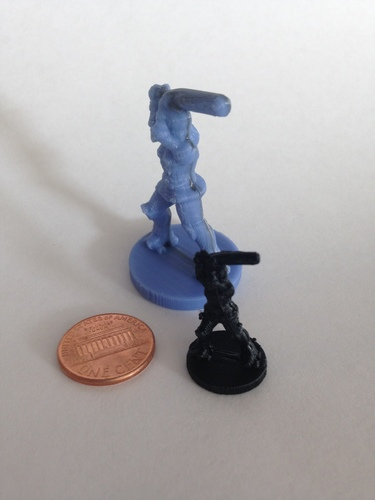 OmniDerby Girl (18mm scale) 3D Print 9805