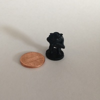 Small Pigman Commando (18mm scale) 3D Printing 9806
