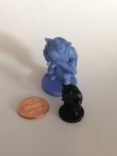 Pigman Commando (18mm scale) 3D Print 9807