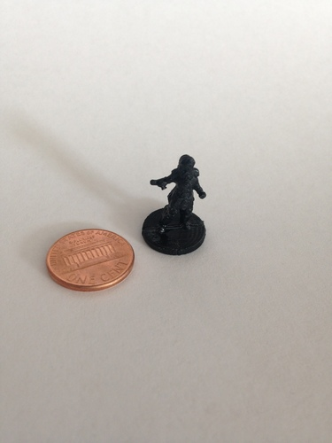 Knight of the Rose (18mm scale) 3D Print 9808