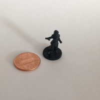 Small Knight of the Rose (18mm scale) 3D Printing 9808