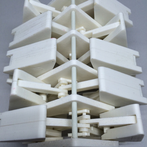 Strandbeest Inspired Walking Machine 3D Print 9825