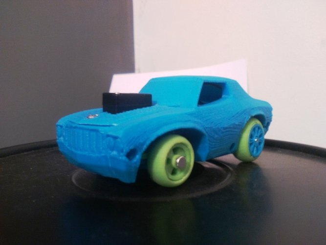 Muscle Car - Arduino + Smartphone - 3DRacers 3D Print 9831