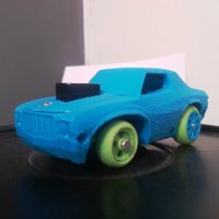 Small Muscle Car - Arduino + Smartphone - 3DRacers 3D Printing 9831