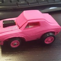 Small Muscle Car - Arduino + Smartphone - 3DRacers 3D Printing 9832
