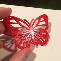 Small Butterflies for Bug #1 3D Printing 9837