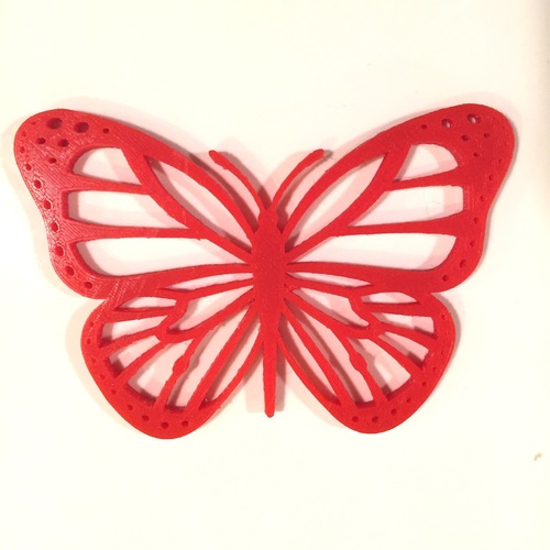 Butterflies for Bug #1 3D Print 9838