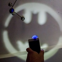 Small Clip-On Pocket Bat-Signal! 3D Printing 9884