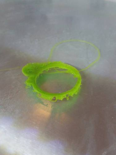 Bubbly Ring 3D Print 994
