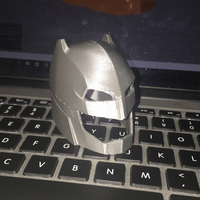 Small Batman vs Superman- Helmet 3D Printing 9992