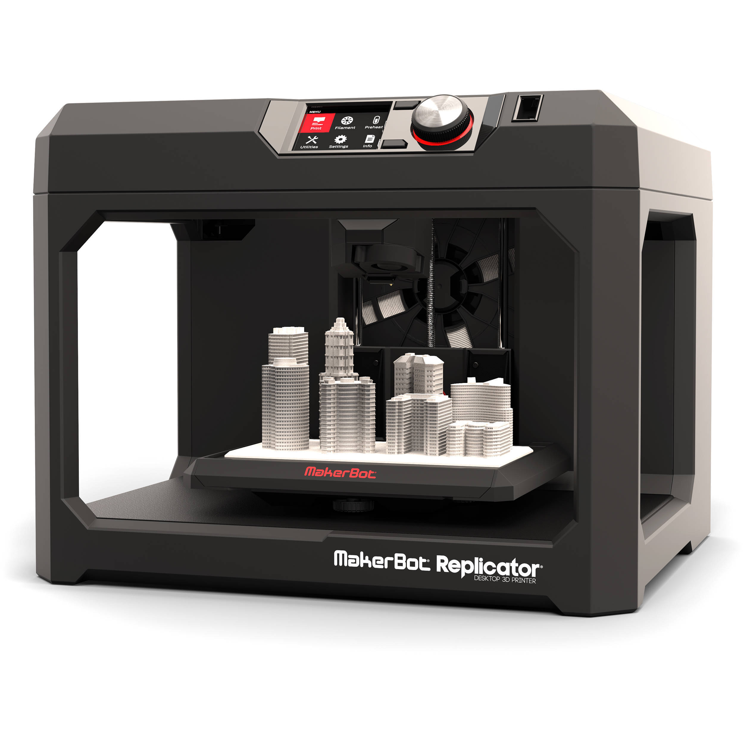 MakerBot Replicator 3D Printer Reviews & Specs