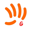 Small logo gekon orange